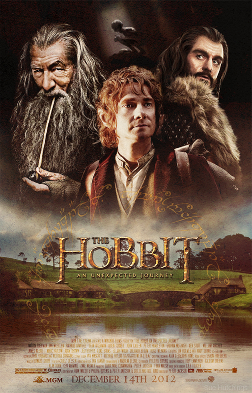 'The Hobbit' Poster by Sue Hutchings at Dorset Studio